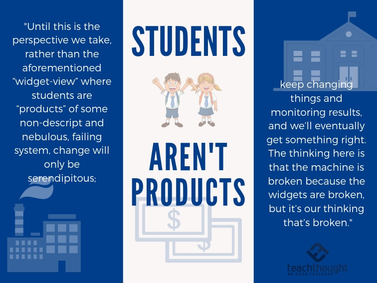 Students Aren't Products: How We Think About Education