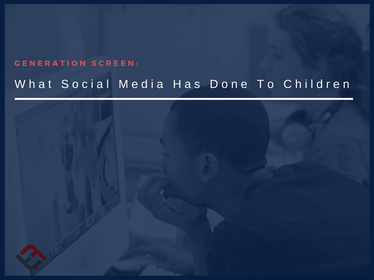 How Screens Have Affected The Way Children See 'The World'